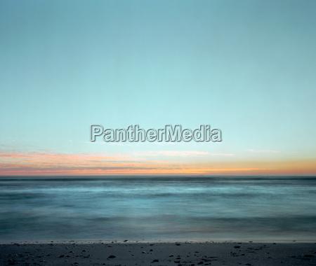 horizonte praia beira mar da praia