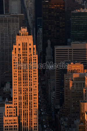 view of fifth avenue in manhattan