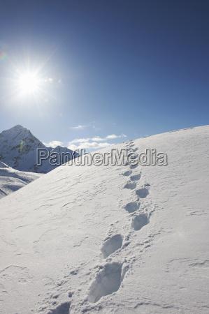 lazer ferias inverno austria luz solar