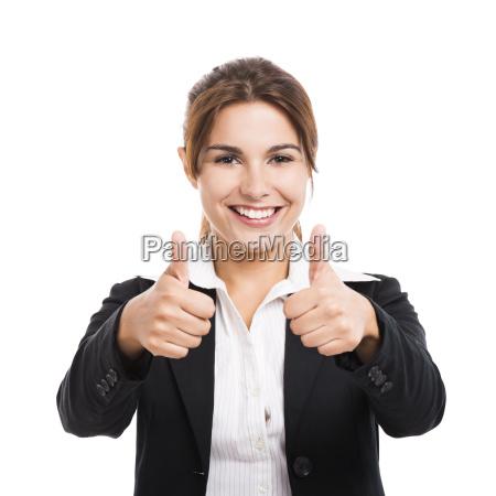 mulher belo agradavel acordo negocio trabalho
