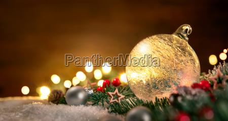 decoracoes transparentes da esfera e do