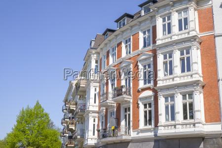 edificio velho em hamburgo alemanha