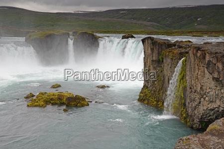ribeiro cachoeira cascata islandia rio agua