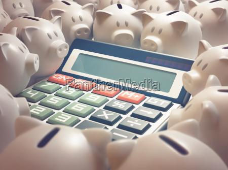 calculadora da financa do banco piggy