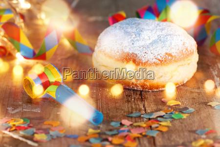 donuts deliciosos para o carnaval