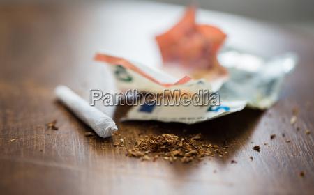 cigarro natureza morta objeto projeto closeup