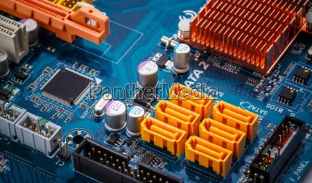 placa de circuito eletronico
