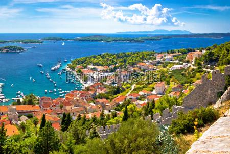 incrivel cidade historica de vista aerea