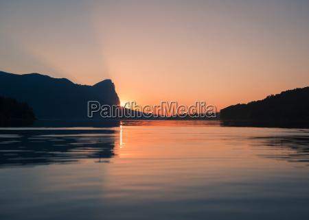 por do sol noite afterglow ceu