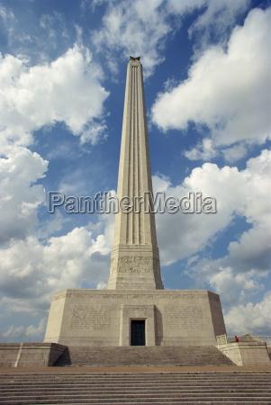 passeio viajar monumento colunas eua passado