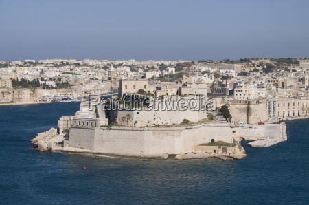 view of the grand harbour and