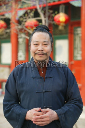 white cloud taoist temple beijing china