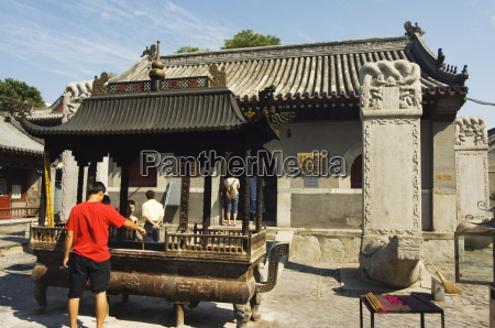 white cloud temple baiyun guan tended
