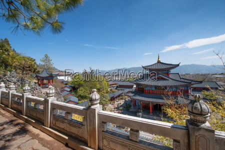an elevated view on mu fu