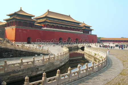 river of gold forbidden city beijing