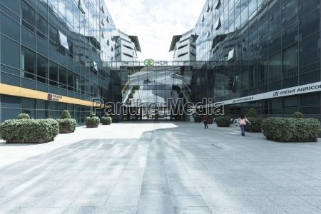 edificios de escritorios modernos novi beograd