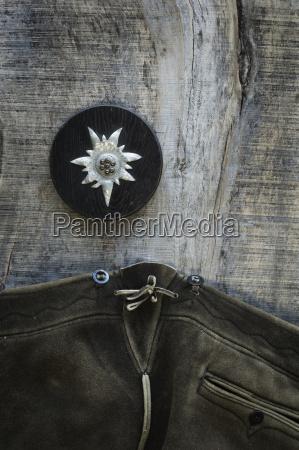 madeira marrom couro bavaria alemanha fotografia