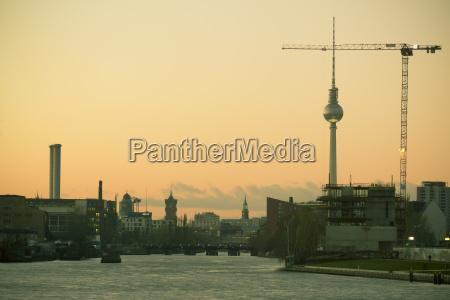 torre passeio viajar cidade berlim alemanha