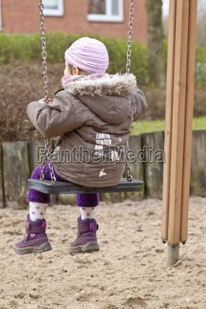 germany schleswig holstein kiel little girl