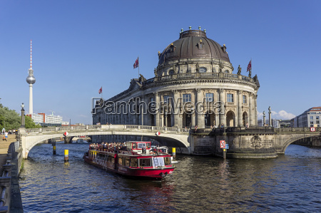 germany berlin view of tour boat