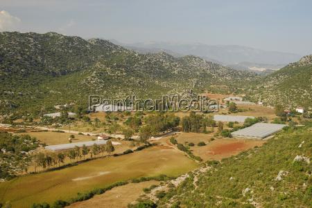 passeio viajar arvore agricultura agua mediterranico