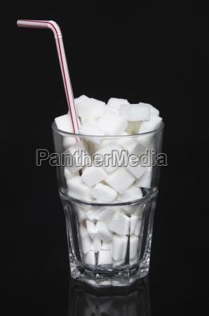 vidro copo de vidro alimento doce