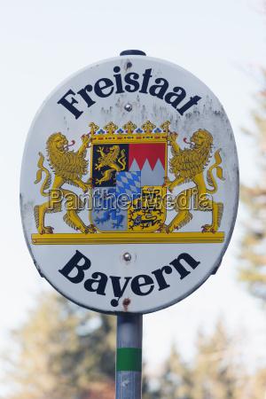 germany bavaria riss valley emblem of