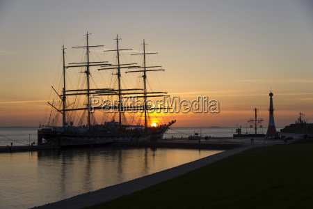 germany bremerhaven sailing vessel kruzenshtern