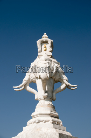 passeio viajar detalhe elefante presa escultura