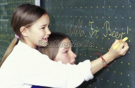educacao caucasiano europeu horizontalmente lousa tag