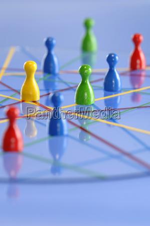 estrategia rede cooperacao vista cone trabalho