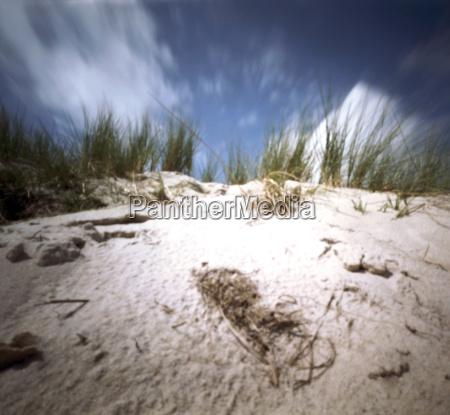 nuvem praia beira mar da praia