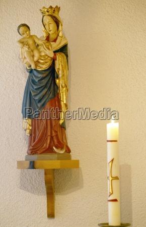 religiao estatua escultura parede fotografia foto