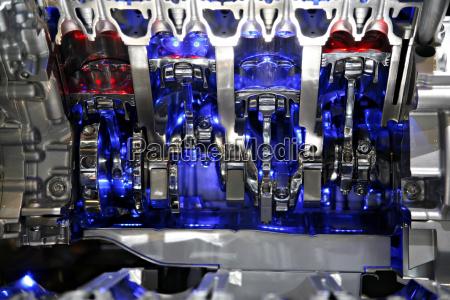 azul close up detalhe moderno tecnologia