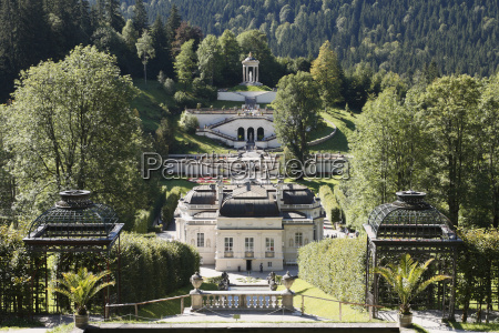germany upper bavaria view of