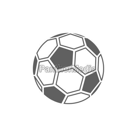 Icone da esfera de futebol no