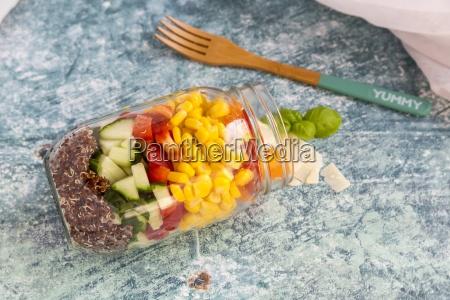 vidro copo de vidro alimento pimenta