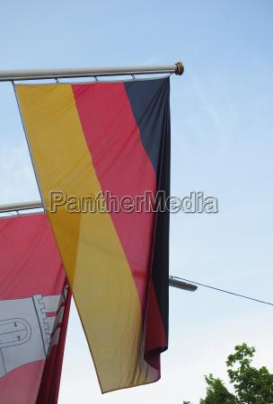 caucasiano europeu europa alemanha hamburgo bandeira