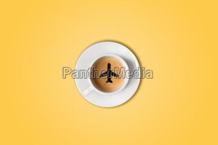 cafe vidro copo de vidro escritorio
