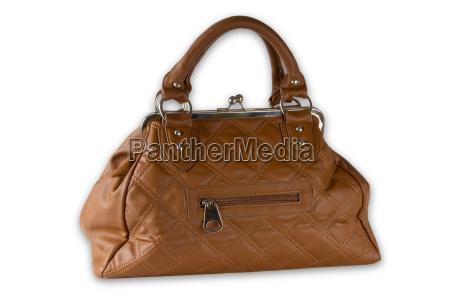 bolsa liberado opcional moda elegante marrom