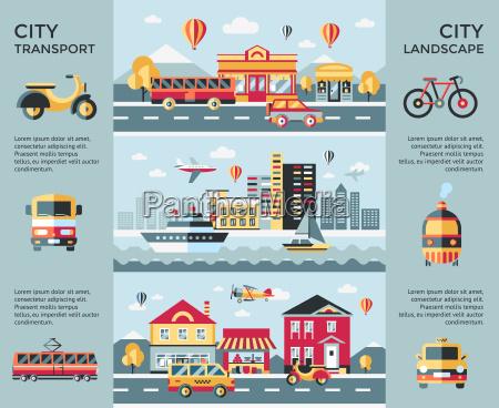 digital vector icones de transporte da