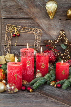 decoracoes do feliz natal com velas