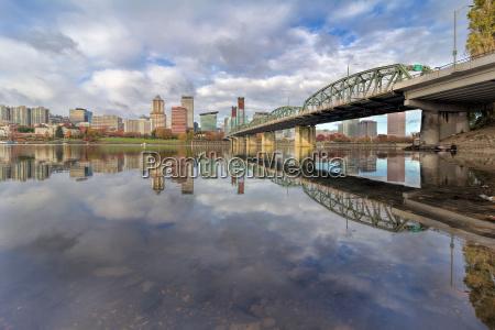 cidade ponte linha do horizonte rio