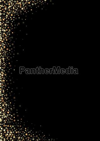 fundo preto com estrelas de ouro