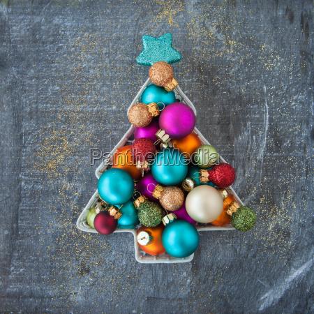 decoracoes coloridas alegres do natal