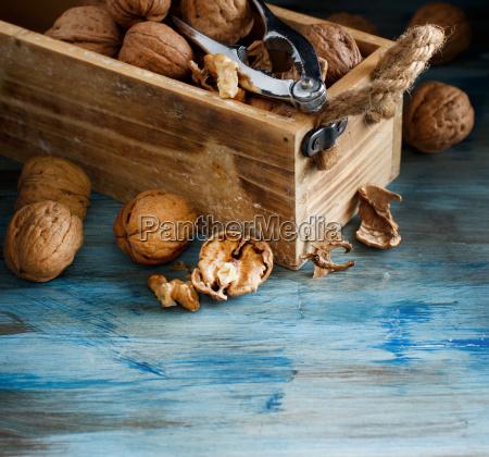 azul alimento saude closeup madeira marrom