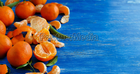 azul laranja alimento doce verde folhas