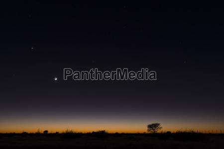 horizonte universo ciencia noite africa savana