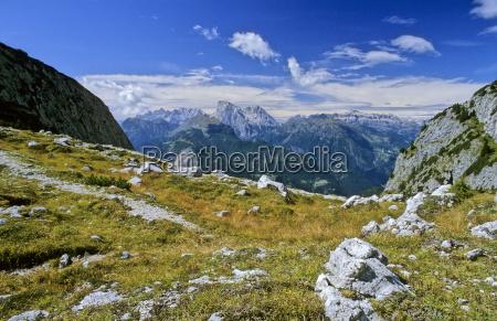 montanhas dolomitos alpes cupula europa rocha