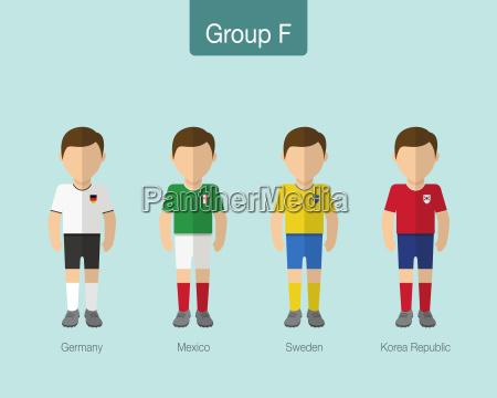 2018 futebol ou uniforme de futebol